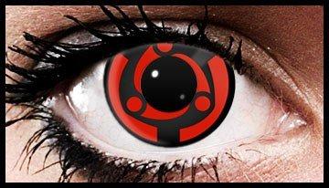 (90 Day Wear) Madara Eternal Mangekyo Naruto Contact Lenses