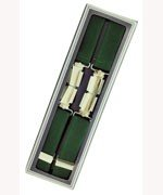 Men's Hardwearing Green 25mm Fashion Braces