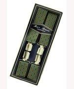 Men's Hardwearing Flower Printed 35mm Fashion Braces
