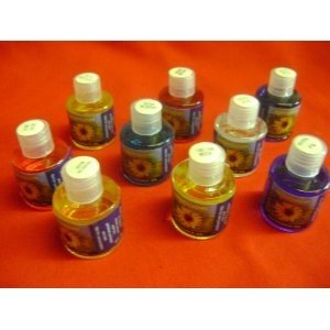 Musk Scented Fragrance Oils Set of 9 x 10ml