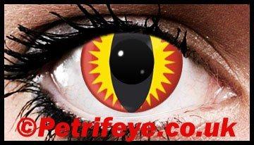 Pheonix Eye Wild Contact lenses