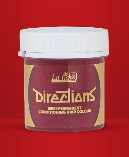 Pillar Box Red Directions Hair Dye By La Riche