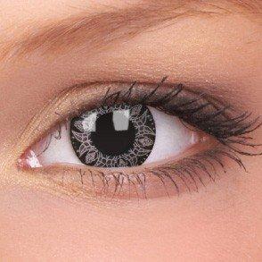 ColourVue Pink Batik Crazy Contact Lenses