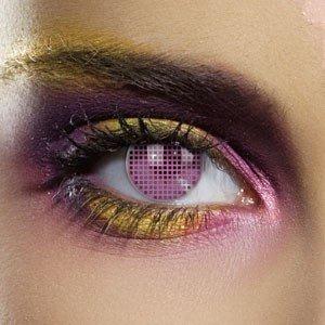 Edit's Colour Vision Range Pink Mesh Contact Lenses