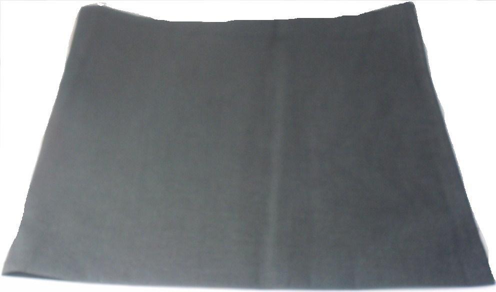 Plain Black  Bandana Head Neck Scarf 100% Cotton