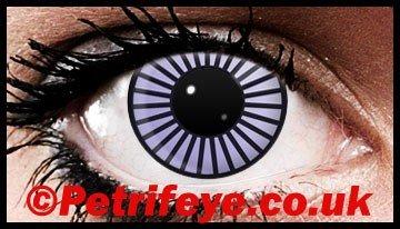 Psychadellic Fancy Dress Contact Lenses