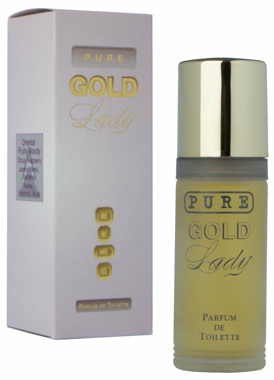 Milton Lloyd Ladies Perfume - Pure Gold - 55ml PDT - Parfum De Toilette
