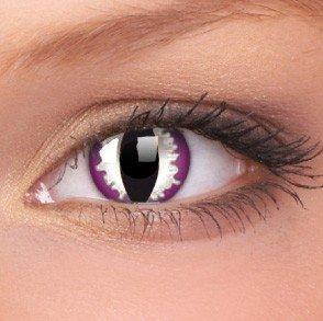 ColourVue Purple Dragon Crazy Contact Lenses