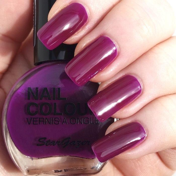 Stargazer UV Dark Pink Neon Nail Varnish 14ml 106