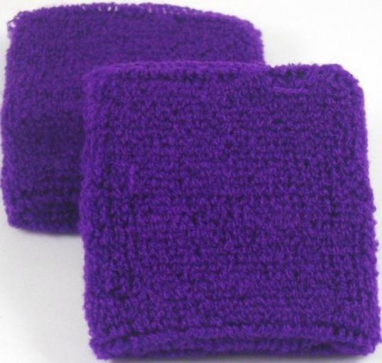 Plain Purple Sweatband / Armband
