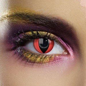 Edit's Colour Vision Range Red Cat Contact Lenses