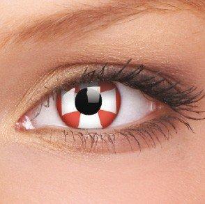 ColourVue Red Cross Crazy Contact Lenses