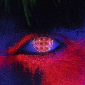 Edit's iGlow Range Red Screen Contact Lenses
