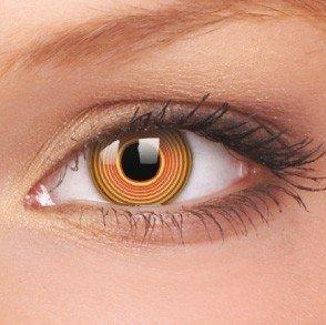 ColourVue Red Spiral Crazy Contact Lenses