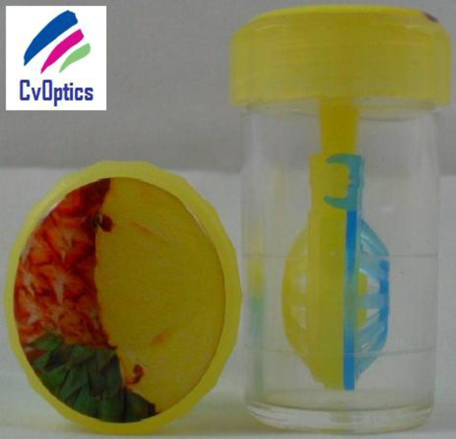 Pineapple Fruit Contact Lens Storage Soaking Barrel Case