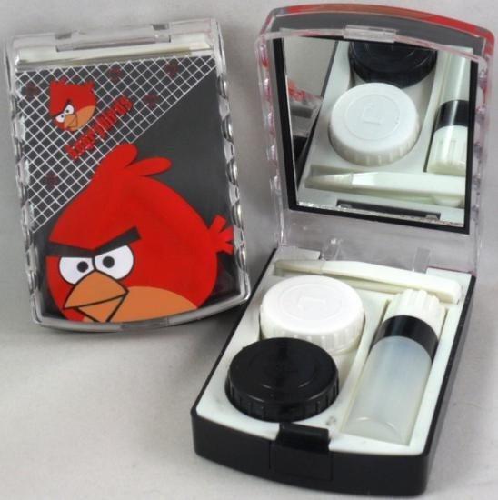 Angry Birds Contact Lens Storage Soaking Travel Kit