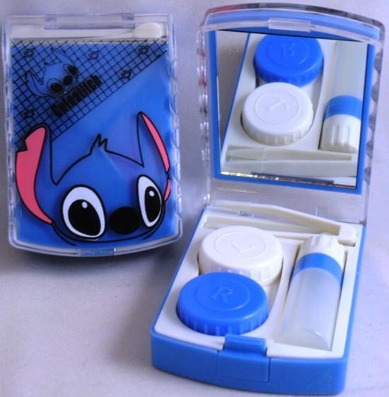 Lilo Stitch Contact Lens Storage Soaking Travel Kit