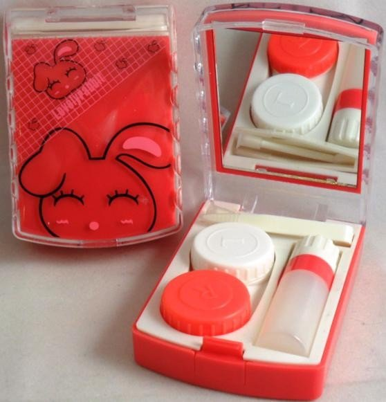 Lovely Rabbit Contact Lens Storage Soaking Travel Kit