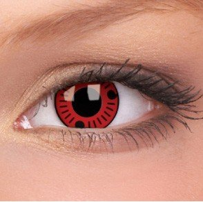 ColourVue Sasuke Crazy Contact Lenses