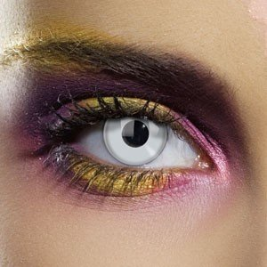 Edit's Colour Vision Range Silver Mirror Contact Lenses