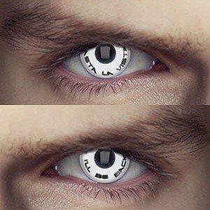 Edit's Terminator Range Slogan Combo Contact Lenses