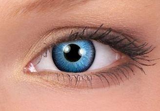 ColourVue Space Blue Contact Lenses