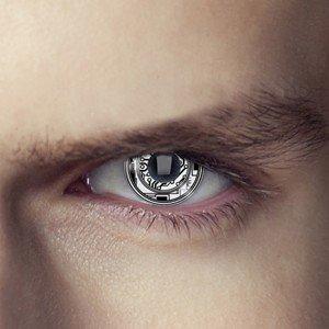 Terminator Bionic Eye Contact Lenses