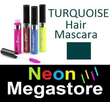 New Stargazer Colour Streak Hair Mascara - UV Neon Turquoise