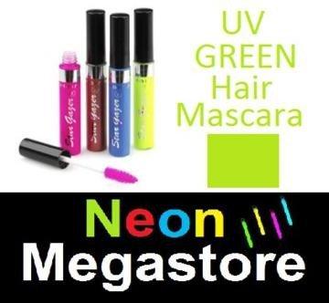 New Stargazer Colour Streak Hair Mascara - UV Neon Green