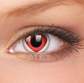 ColourVue Valentine Crazy Contact Lenses