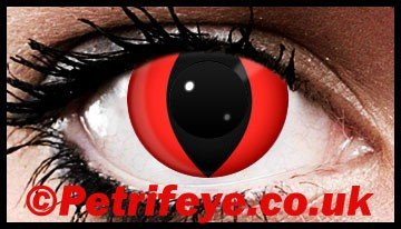 Evil Vampire Eyes Contact Lenses