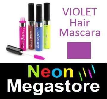 New Stargazer Colour Streak Hair Mascara - UV Neon Violet