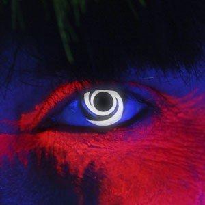 Edit's iGlow Range White Swirl Contact Lenses