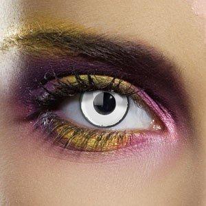 Edit's Colour Vision Range White Zombie Contact Lenses