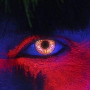Edit's iGlow Range Wolf Eye Contact Lenses