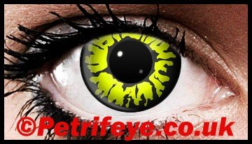 Wolf Eyes Designed Colour Contact Lenses