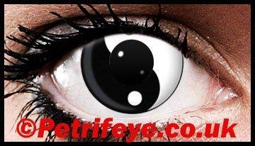 Yin Yang Design Classic Contact Lenses