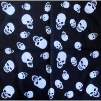 Skull Pattern Design 11 Bandana Head Scarf