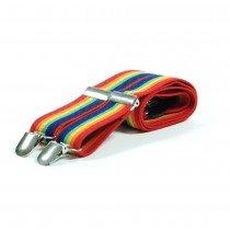 Unisex Printed Rainbow Fashion Braces