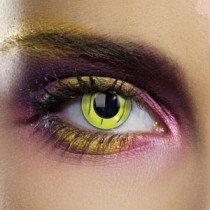 Edit's Frankenstein Range Green Stitch Contact Lenses