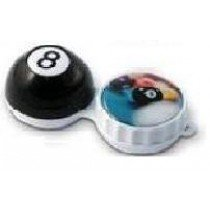 Eight Ball 3D Contact Lenses Storage Soaking Case