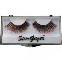 Stargazer Reusable False Eyelashes Black & Red Foil 5