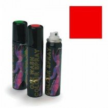 Stargazer Red (UV Reactive) One Wash Colour Hair Spray 75m