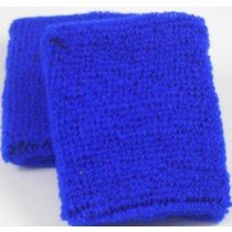 Plain Dark Blue Sweatband / Armband