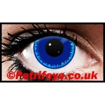 Blue Burst Coloured Contact lenses