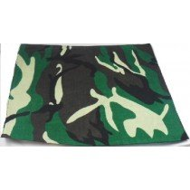 Green Camouflage Bandana Head Scarf