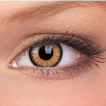ColourVue Honey Glamour Coloured Contact Lenses