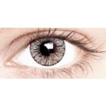 Satin Grey Coloured Contact Lenses 30 Day
