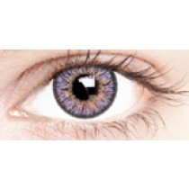 Violet Splash Coloured Contact Lenses 30 Day