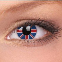 ColourVue Union Jack Crazy Contact Lenses